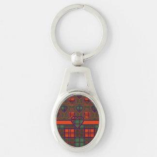Grant-Clan karierter schottischer Tartan Schlüsselanhänger