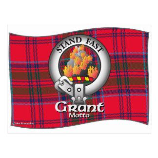 Grant-Clan Postkarte