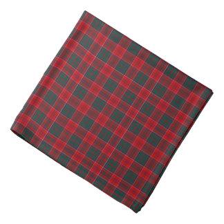 Grant-Clantartan-helles rotes, blaues und grünes Halstuch
