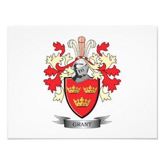 Grant-Familienwappen-Wappen Fotodruck