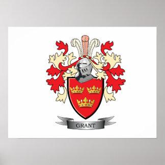 Grant-Familienwappen-Wappen Poster