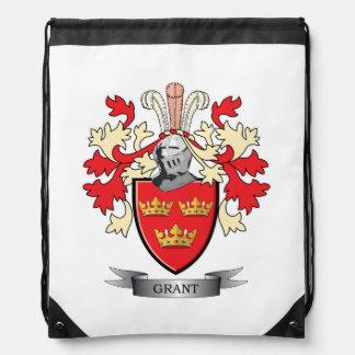 Grant-Familienwappen-Wappen Turnbeutel