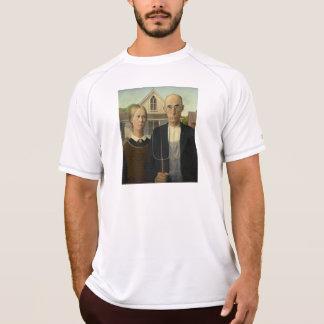 Grant Wood - amerikanisches gotisches T-Shirt