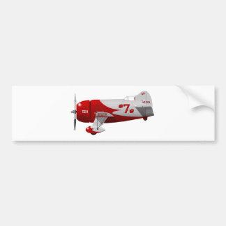 "Granville-Bruder-Flugzeug-""Gee Biene R-1 "" Autoaufkleber"