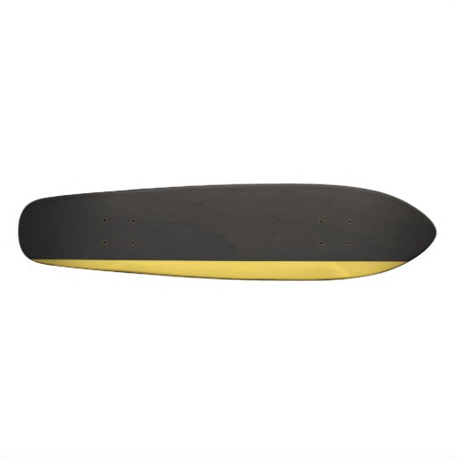 Graphit gelbes Longboard Individuelle Skateboards