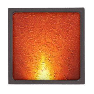 Graphitfeuer-Brand-Rauch-abstraktes Metallrostiges Schachtel