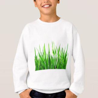 Gras-Blatt-Natur-abstrakte Form-Modeart Sweatshirt