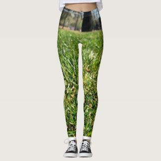 Gras-Gamaschen Leggings