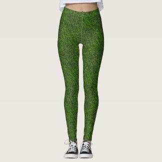 Gras-Grün Leggings