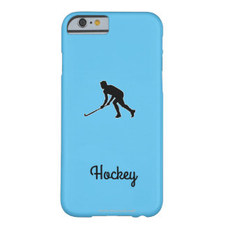 Gras-Hockey-Spieler Barely There iPhone 6 Hülle