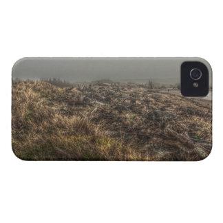 Grasartige Wiesen-nebelige Strand-Galaxie-mutiger iPhone 4 Case-Mate Hülle