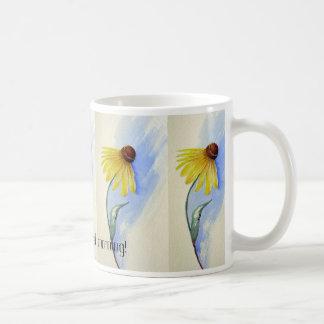 Grasland Coneflower Schale Kaffeetasse