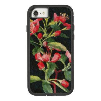 Grasland Crabapple Schwarzes und rosa mit Case-Mate Tough Extreme iPhone 8/7 Hülle