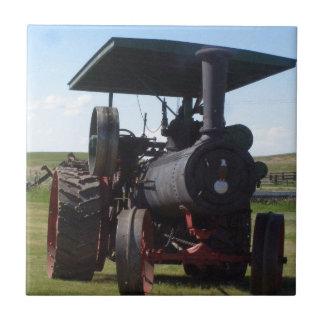 Grasland-Dampf-Traktor Keramikfliese