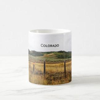 Grasland in Colorado Kaffeetasse