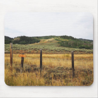 Grasland in Colorado Mousepad