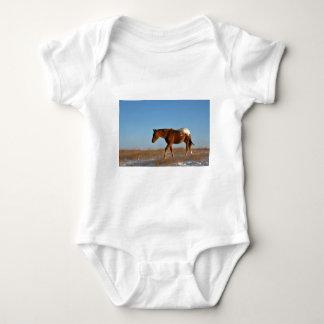 Grasland-Pferd Baby Strampler