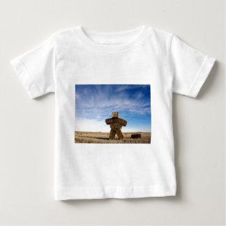 Grasland-Strohmann Baby T-shirt