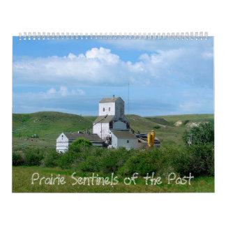 Grasland-Wachposten der Vergangenheit Kalender