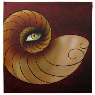 Grassonius V1 - aufpassendes Auge Serviette