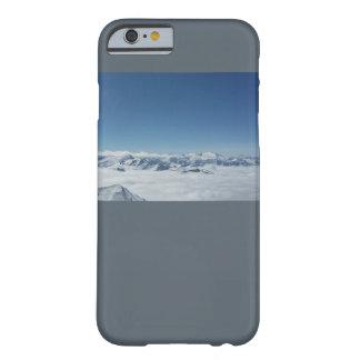 Grau-Berge Telefon der Rechtssache I Barely There iPhone 6 Hülle