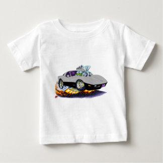 Grau-Schwarzes Auto 1977-79 Korvette Baby T-shirt
