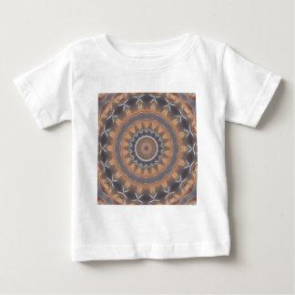 Grau und industrielles Kaleidoskop 9 Browns Baby T-shirt