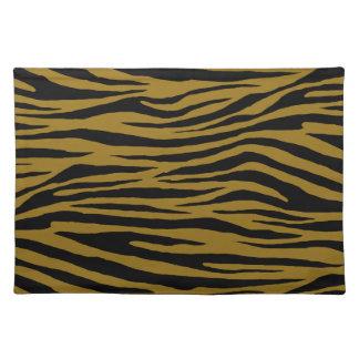 Graubrauner Tiger Tischset