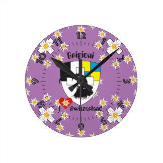 Graubünden Grischun Grigoni Schweiz Svizra Uhr