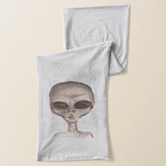Graue alien-Liebe Schal