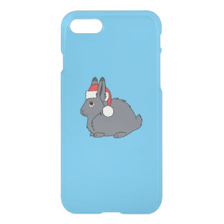 Graue arktische Hasen mit roter iPhone 8/7 Hülle