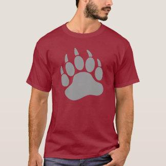 Graue Bärn-Stolz-Bärentatze (L) T-Shirt