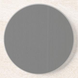 Graue einfache Schablone des Raum-DIY addieren Sandstein Untersetzer