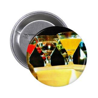 graue Gansmartinis Runder Button 5,7 Cm