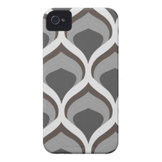 graue geometrische Tropfen iPhone 4 Hülle