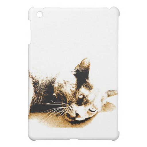 Graue Katze Hüllen Für iPad Mini