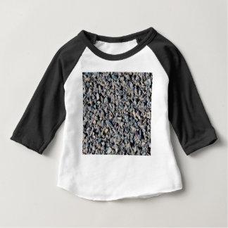 graue Kiesbeschaffenheit Baby T-shirt