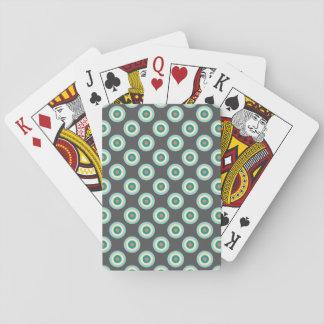 Graue Kombinations-Kreise durch Shirley Taylor Spielkarten