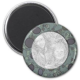 graue Kreisrahmenschablone