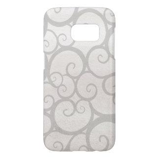 Graue Muster-Samsung-Galaxie S7, kaum dort