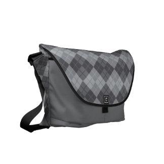 Graue Raute Kurier Taschen