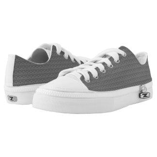 Graue Rhombus™ M/W niedrige Spitzenschuhe Niedrig-geschnittene Sneaker