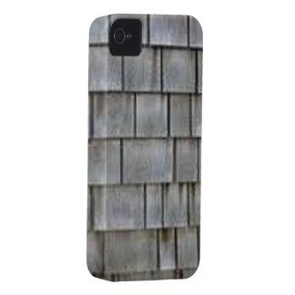 Graue Schindeln iPhone 4 Hülle
