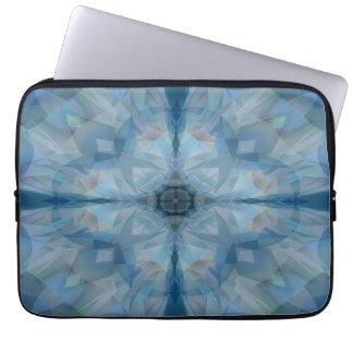 Graue Schmetterlinge Laptop Sleeve