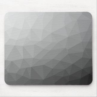 Graue Steigungs-geometrische Masche Mousepad