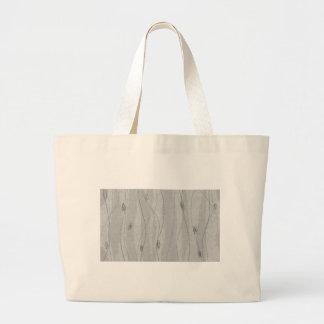 graue vertikale Linien Zeichnen Einkaufstasche