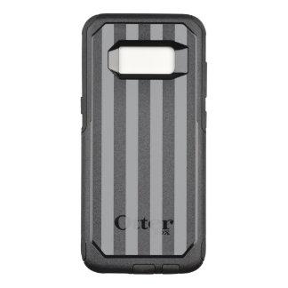 Graue vertikale Streifen OtterBox Commuter Samsung Galaxy S8 Hülle