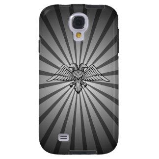 Grauer Adler mit zwei Köpfen Galaxy S4 Hülle
