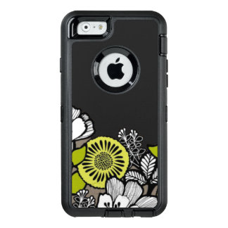 Grauer Blumen OTTER Kasten iPhone 6/6s Kasten OtterBox iPhone 6/6s Hülle