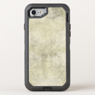 Grauer Brown-Marmor-Blick OtterBox Defender iPhone 8/7 Hülle